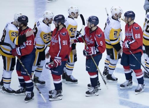 Pittsburgh Penguins, Washington Capitals