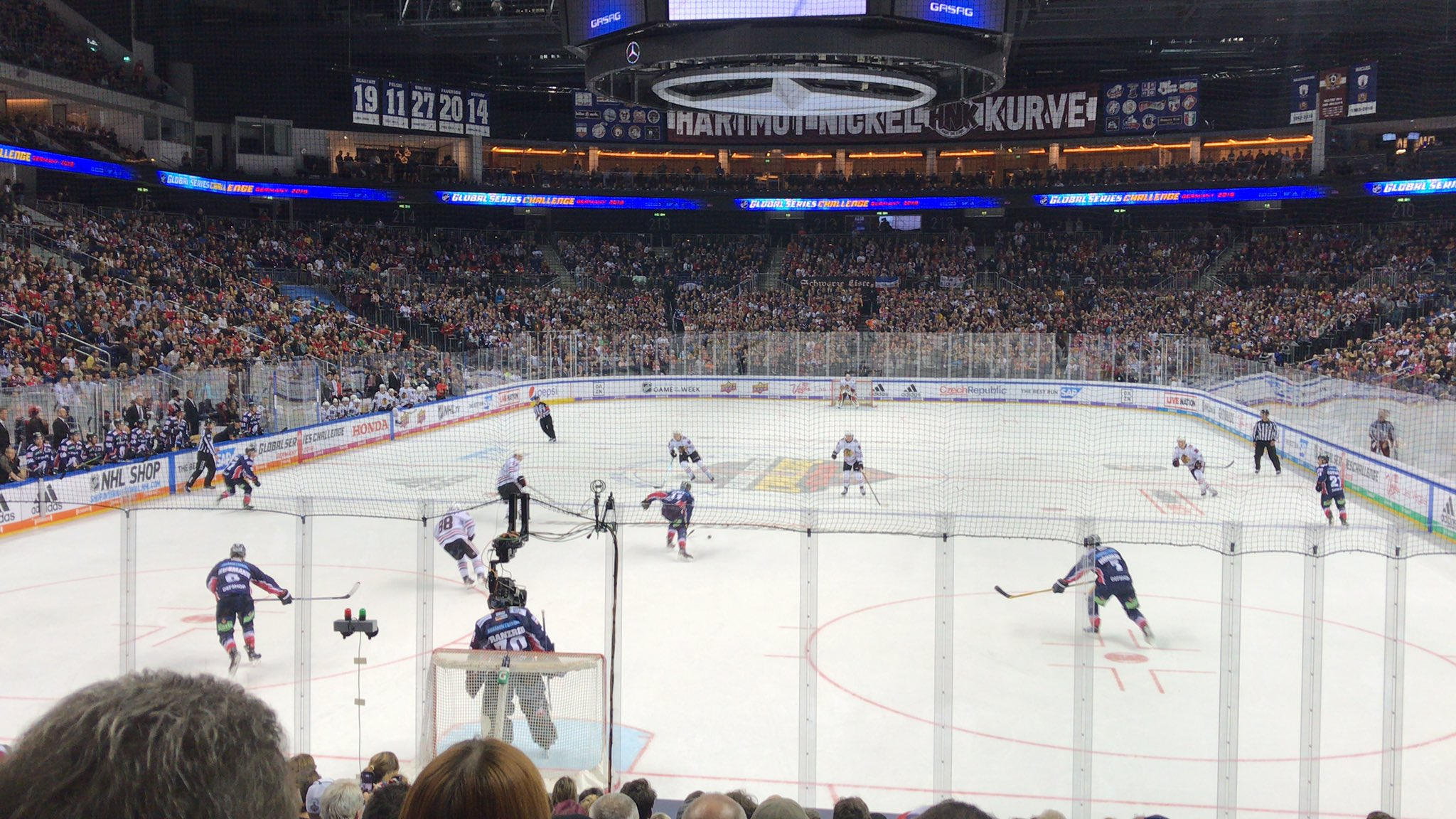 Blackhawks vs. Eisbären Game Recap
